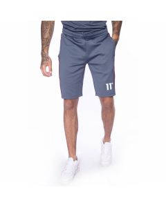 11 Degrees - Piping Poly Shorts - Anthracite/White/Red