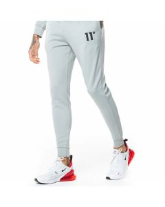 11 Degrees - Core Poly Track Pants Skinny Fit - Pastel Green