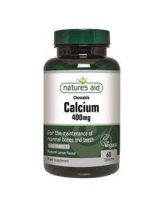 Natures Aid - Calcium 400 mg With Vitamin D3