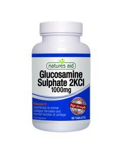 Natures Aid - Glucosamine Sulphate 2KCI 1000mg