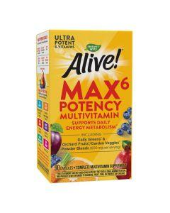 Natures Way - Alive - Max6 Daily Multivitamin