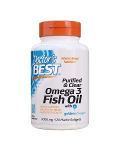 Doctors Best - Purified and Clear Omega-3 Fish Oil