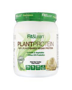 Fit&Lean - Plant Protein - 100% Plant-Based Vegan Protein Powder