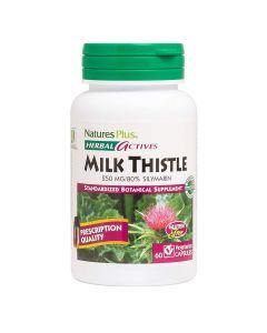 Natures Plus - Herbal Actives Milk Thistle