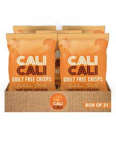 Cali Cali - Golden State Tangy Cheese & Onion Box Of 21