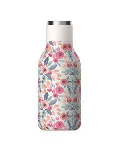 Asobu - Urban Insulated and Double Walled Stainless Steel Bottle - Floral