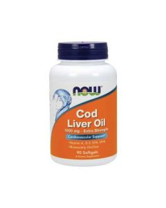 NOW Cod Liver Oil Cardiovascular Support