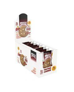 Muscle Cheff - Protein Cookie - Cinnamon & White Chocolate - Box of 12