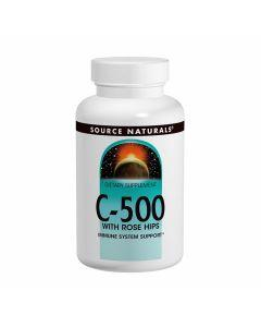 Source Naturals C-500 with Rose Hips