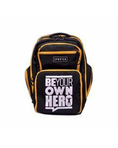 Sporter - Meal Backpack - Black/Yellow
