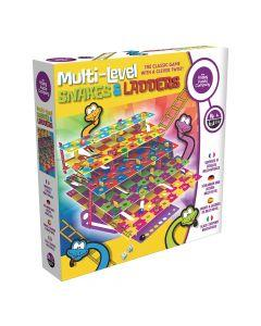 Happy Puzzle MULTI-LEVEL SNAKES & LADDERS