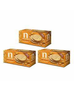 Nairn's Stem Ginger Oat Biscuits - Box of 3