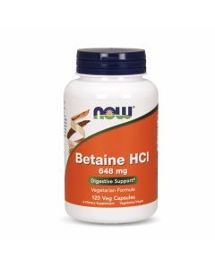 Now Betaine HCl 648 mg