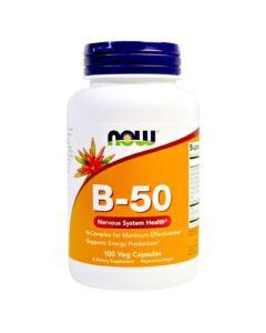 NOW B-50 Nervous System Health
