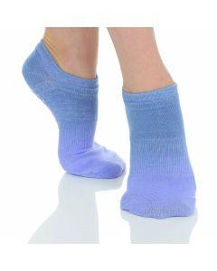 Great Soles - Ombre Grip Sock  - Lilac/Silver/Purple