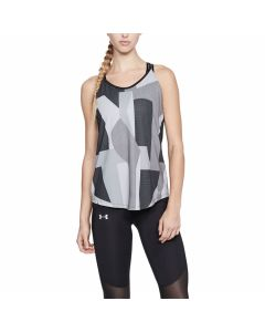 Under Armour - Speed Stride Printed Tank - Black/Reflective