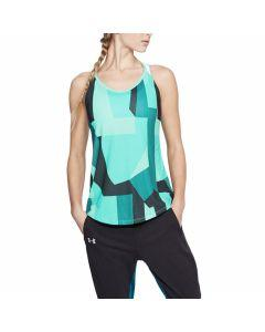 Under Armour - Speed Stride Printed Tank - Tropical Tide/Desert
