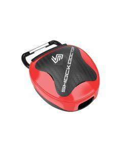Shock Doctor - AntiMicr MG Case - Red