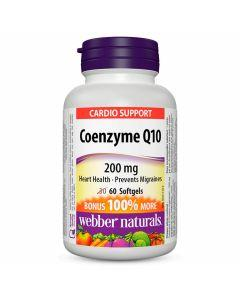 Webber Naturals - Cardio Support Coenzyme Q10
