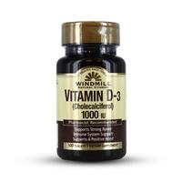 Windmill Natural Vitamins - Vitamin D-3 Cholecalciferol 1000 IU