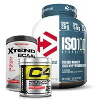 Dymatize ISO 100 , C4 & Scivation Xtend
